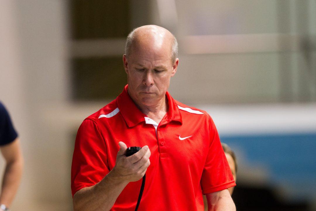 Georgia Head Coach Jack Bauerle Won't Be at Either NCAA Championship Meet