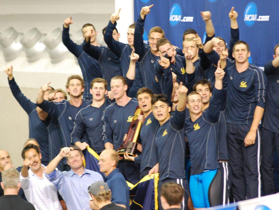 Congratulations California — 2014 Men's NCAA Team Champions!