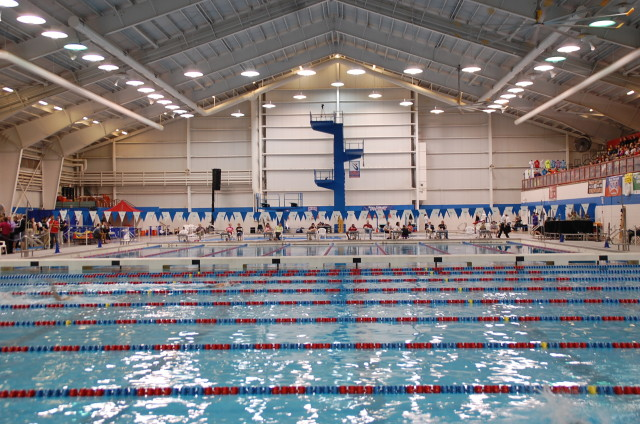 Oklahoma City Community College Aquatic Center, host of the 2014 NAIA National Championships.
