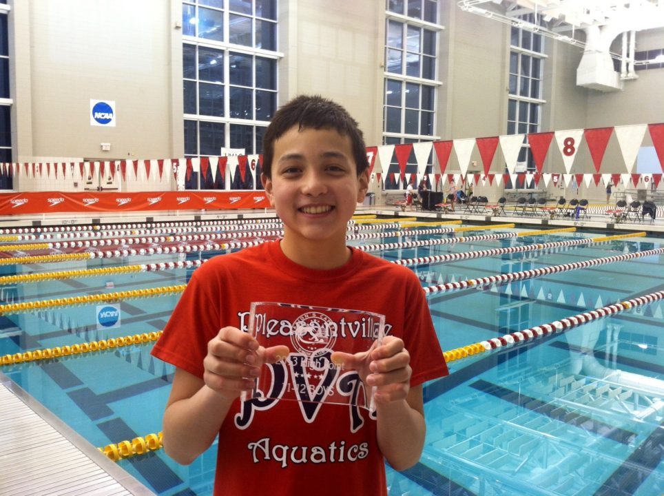 See-Saw Battle From New Jersey Backstrokers: Lasco Grabs 100 Back NAG Record; Marciano Takes 50