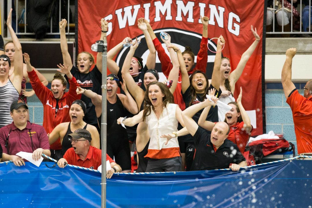 Day 4 Scoring Breakdown at 2015 SEC Swimming & Diving Championships