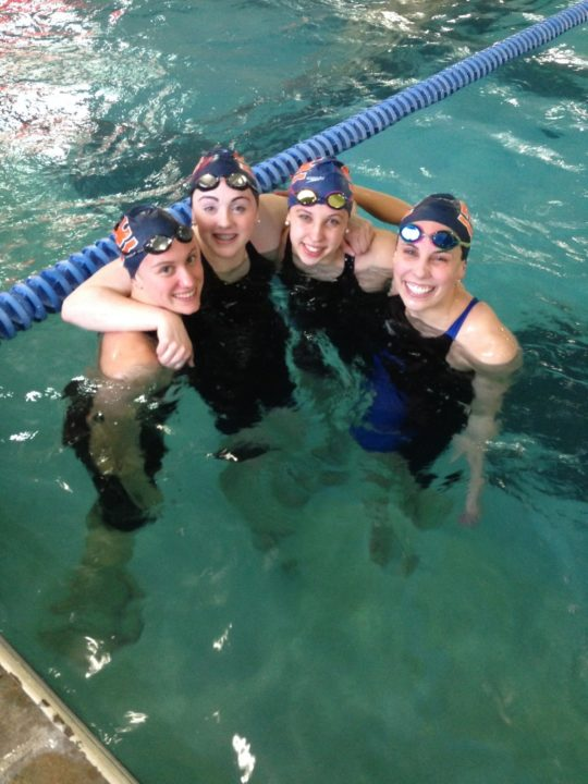 SwimMac Girls Break 15-18 400 Medley National Relay Record At TarHeel States Championship