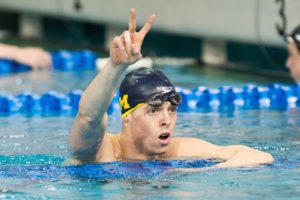VIDEO INTERVIEW: Michigan mile champ Connor Jaeger recaps Wolverine season