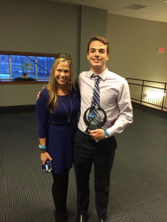 UCSD's Calkins; Queens' Diemer Win 2014 NCAA Division II Elite 89 Awards