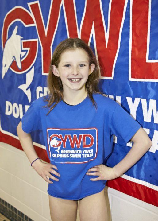 Megan Lynch, 10, Breaks Two NAG Records In One Individual Swim