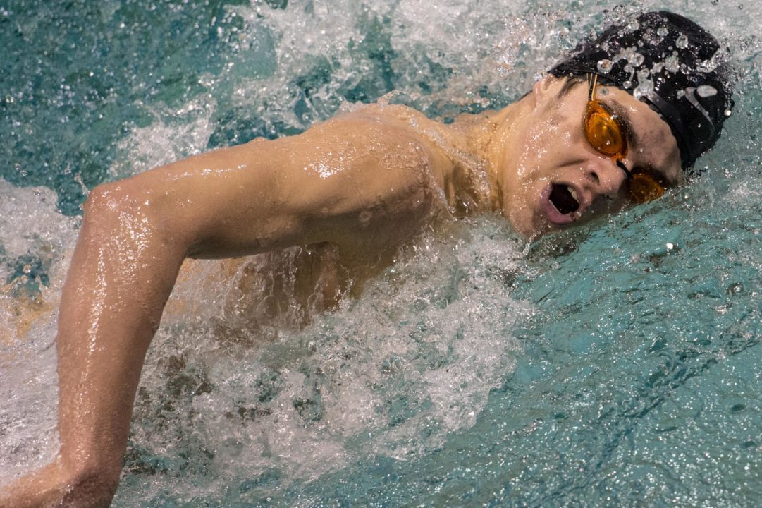 Michael Andrew Re-Breaks 100 Breast, 100 Free NAG Records; Goes Under 54 Seconds
