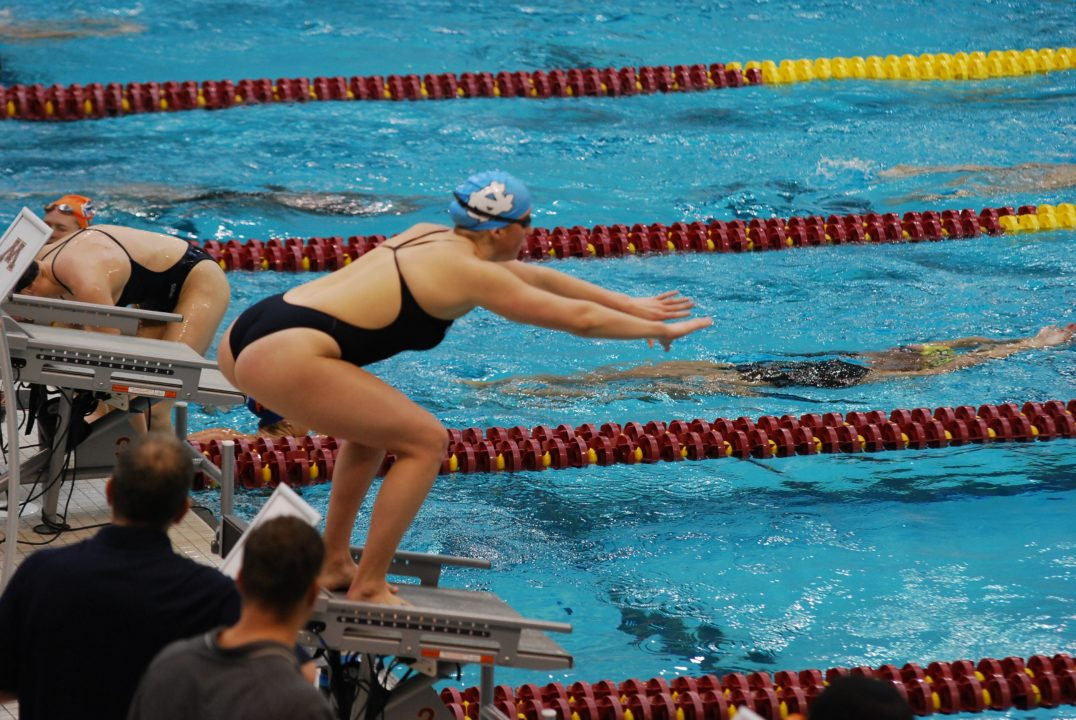 UPDATE: Fin Removals To Be Allowed at Women's NCAA's, But Only At Start of Relays
