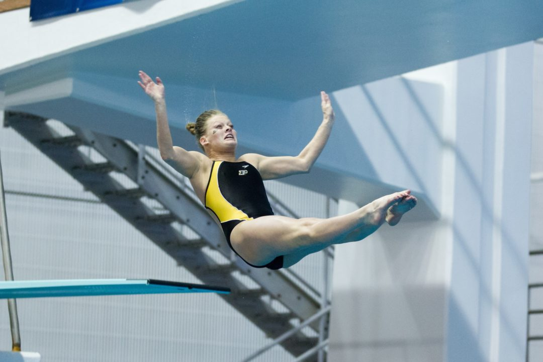 One More Diver For Purdue On Day 3 of Zone C Champs