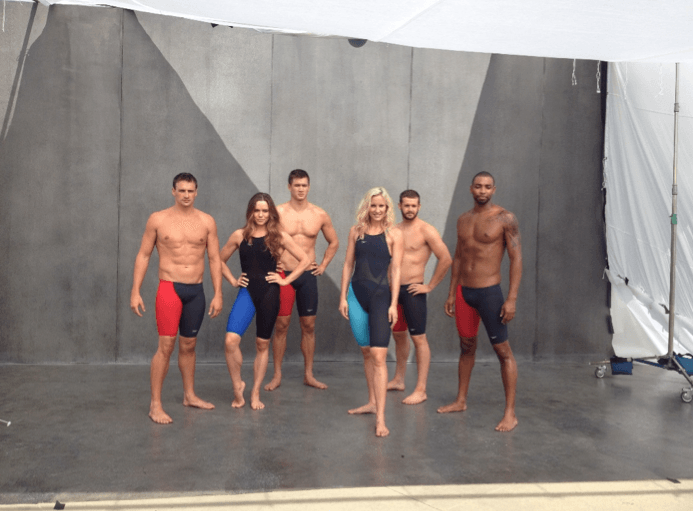 Another Team Speedo shot, this time in the updated LZR Elite 2.