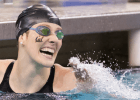 Missy Franklin breaks the 200 freestyle NCAA Record & American Record at the 2014 Women's NCAA DI Swimming & Diving Championships (Tim BInning, theswimpictures)