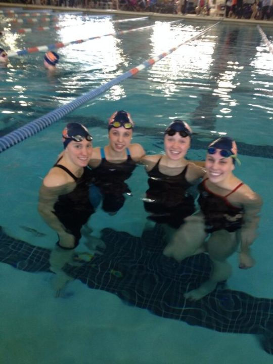 SwimMAC Carolina Girls Break Two More 17-18 NAG Relay Records; Now Hold All 10 in the Category