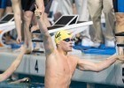 Seth Stubblefield of Cal anchored the winning 200 free relay in 18.48 at the 2014 Men's NCAA DI Swimming and Diving Championships (courtesy of Tim Binning, the swim pictures)