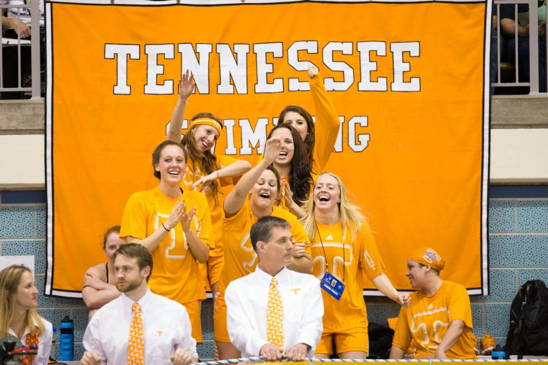 Meet Notes: VOLS Swim and Dive host double dual with Indiana and Kentucky