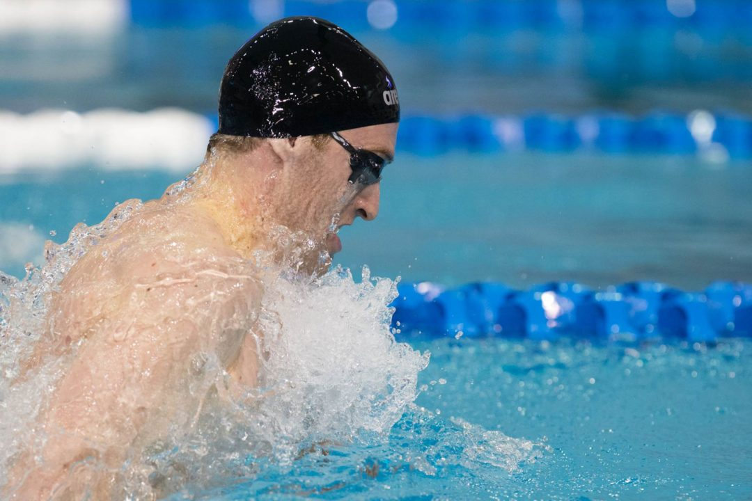 New Pool Record for Louisville Men on Day 1 of Cardinal Invite