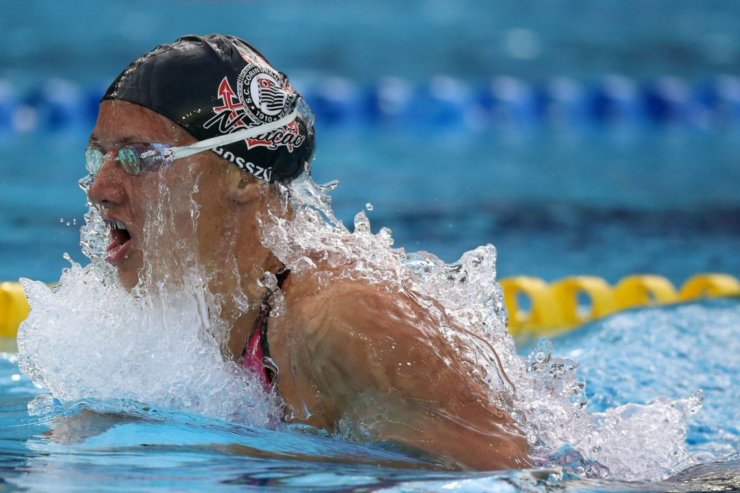 Katinka Hosszu Breaks World Record in Women's 200 SCM IM