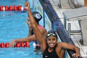 Etiene Medeiros. 54º Trofeu Maria Lenk de Natacao no Parque Aquatico do Ibirapuera. 21 de abril de 2014, Sao Paulo, SP, Brasil. Foto: Satiro Sodre/SSPress