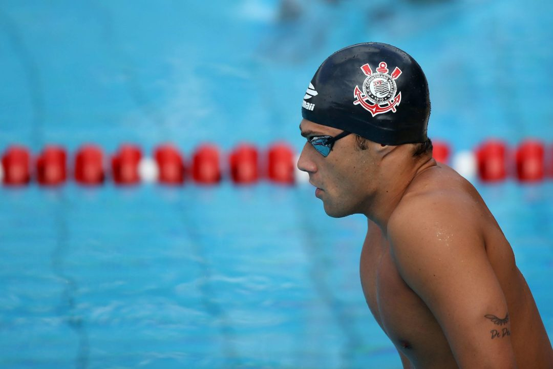 De Deus breaks another South American record on day 5 of Maria Lenk Trophy