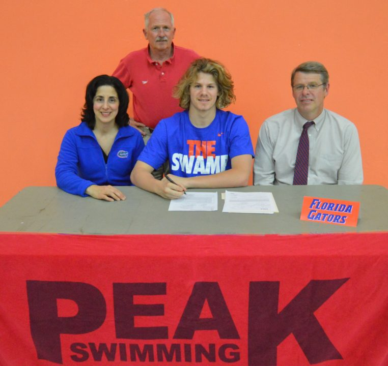 Florida Gators Sign Distance Freestyler Ben Lawless Out of Maryland