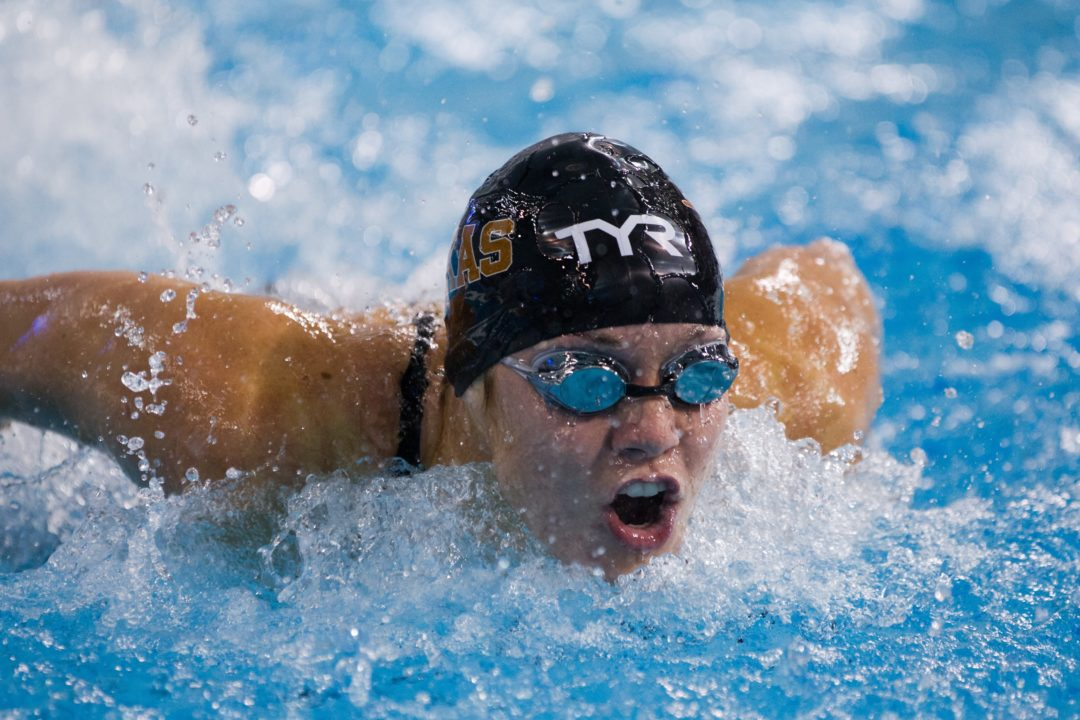 Texas Takes 8 of 10 Big 12 Annual Awards; Bohman Named Men's Swimmer of the Year