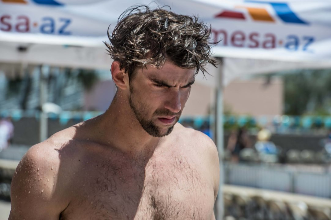 2014 Mesa Grand Prix: Phelps' Quick Return Highlights Day One Prelims