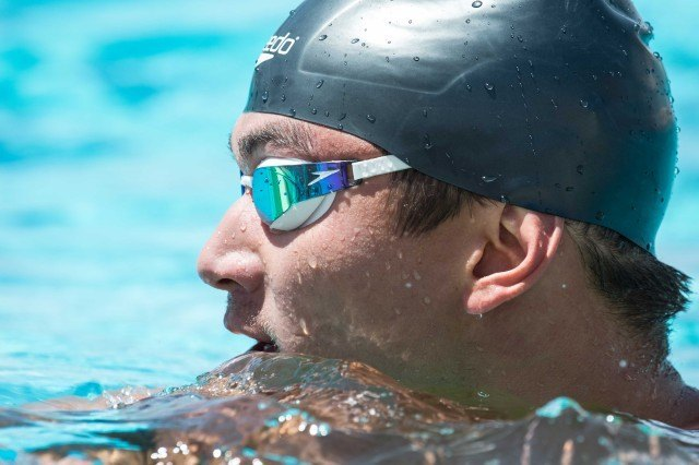 Nathan Adrian - 2014 Arena Grand Prix at Mesa  (courtesy of Mike Lewis, olavistaphotography.com)