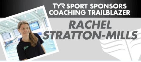Rachel Stratton-Mills, head coach of the Asphalt Green Unified Aquatics