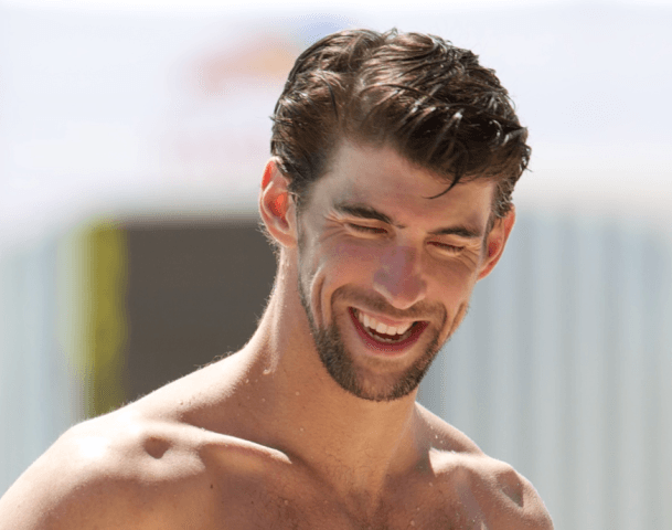 Michael Phelps at the 2014 Arena Grand Prix in Mesa (courtesy of Rafael Domeyko)