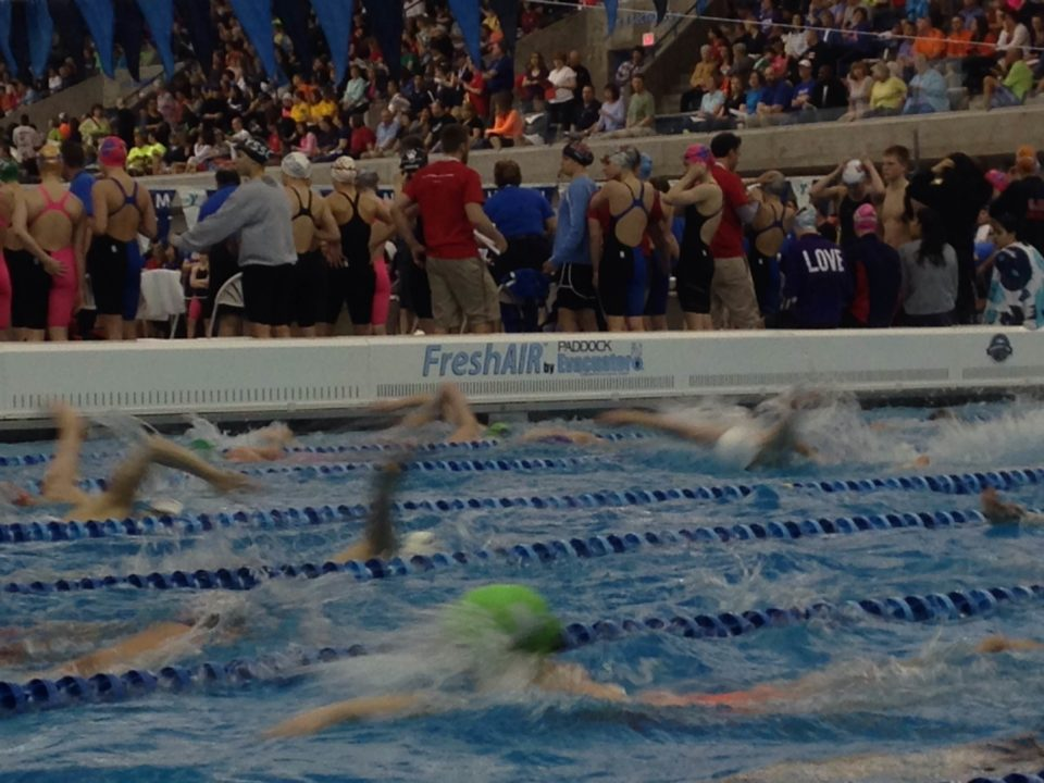 2014 YMCA Nationals: Day 1 GAC Air Quality Report