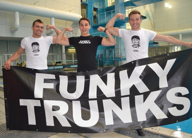 Funky Trunks and Funkita sponsor Diving Australia and the Youth Development Team.