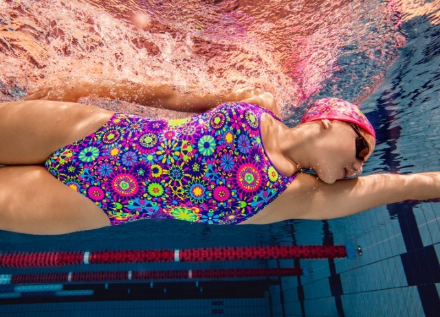 Australian backstroker Belinda Hocking (ranked 1st in the world this year) is sponsored by Funkita