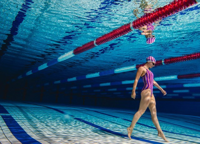 Commonwealth Record Holder Ellen Gandy (200m butterfly) is sponsored by Funkita