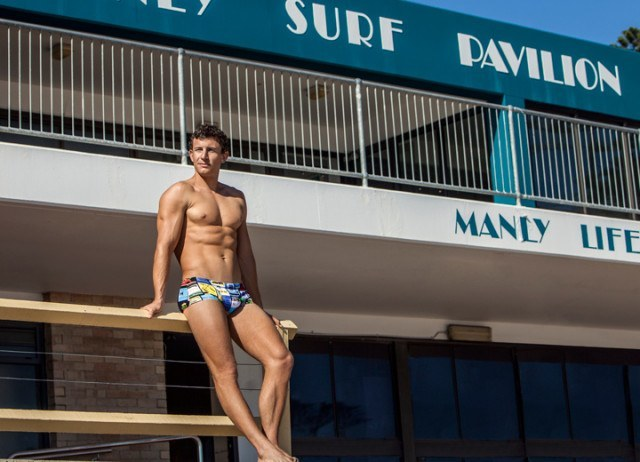 Olympic K4 Champion Murray Stewart is sponsored by Funky Trunks
