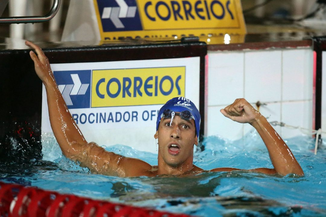 2015 World University Games: Martins' 50 fly highlights day 1 prelims