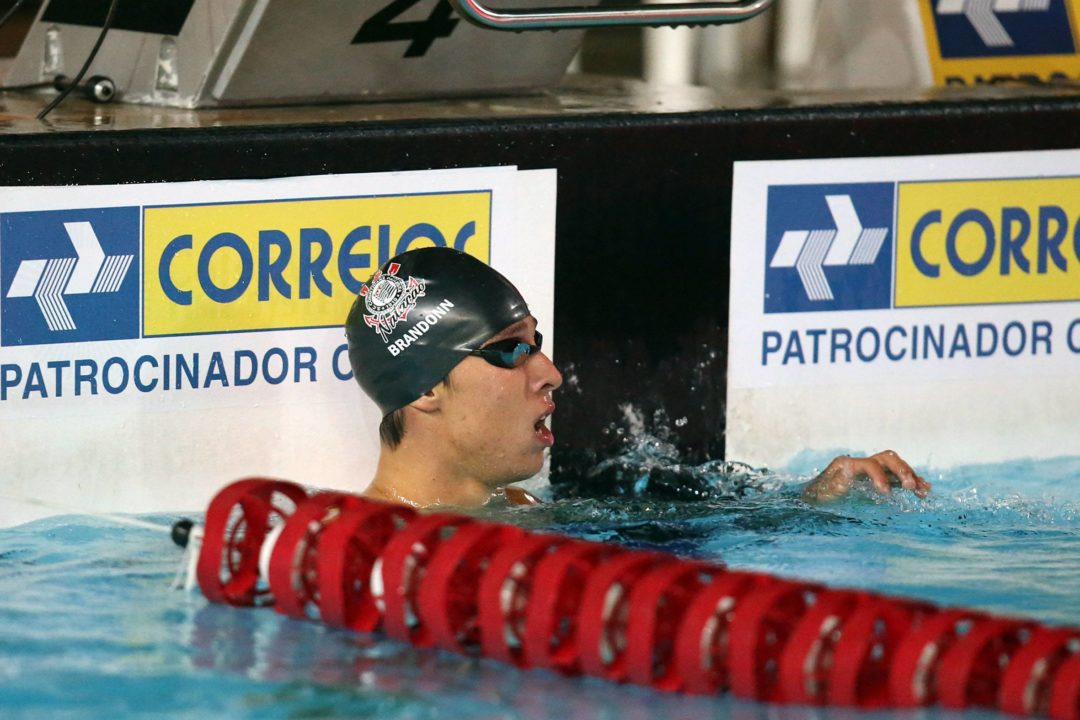 Brandonn Almeida Breaks Brazilian 1500 Free Record To Highlight Day 2 of Maria Lenk Trophy