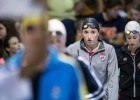 Claire Donahue and the finalist in the 100 fly (photo: Mike Lewis, Ola Vista Photography)
