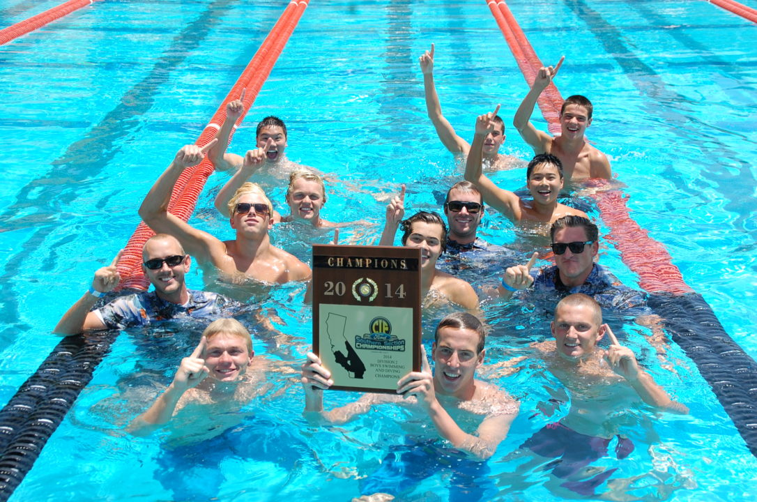 CIF-SS D2 Boys: Kyle Coan and Los Osos Repeat as Divisional Champs; Beat Santiago by 1.5 Points