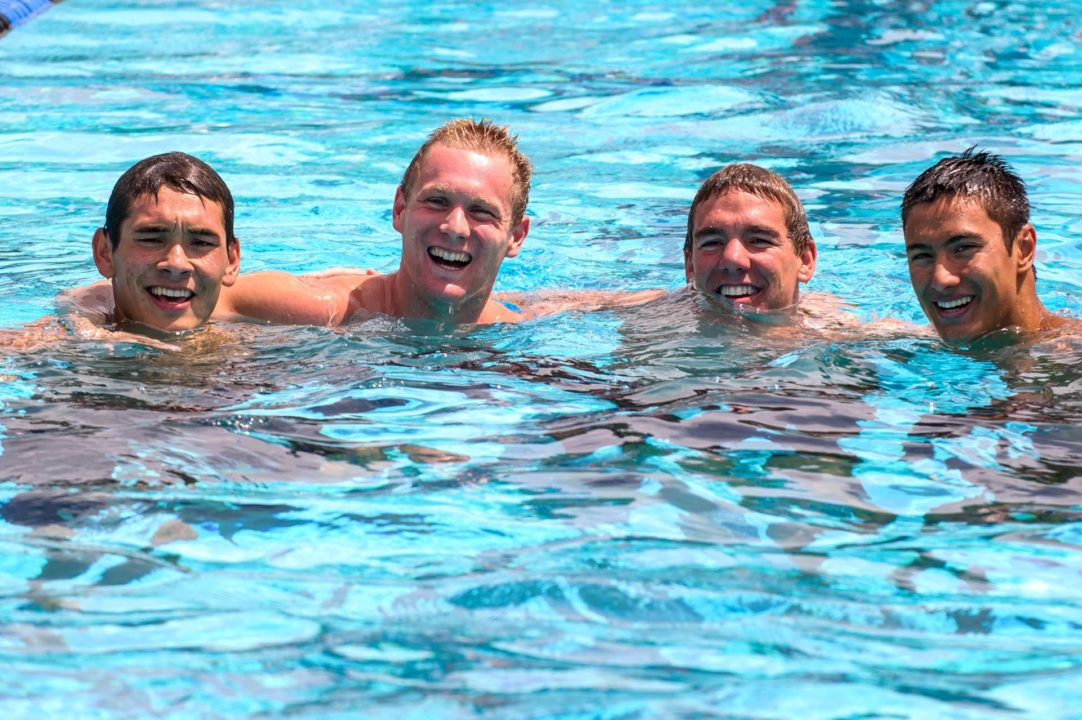 Granada Boys Break National Public School Record in 400 Free Relay