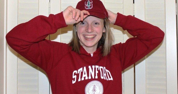 World Record Holder Katie Ledecky Makes College Decision