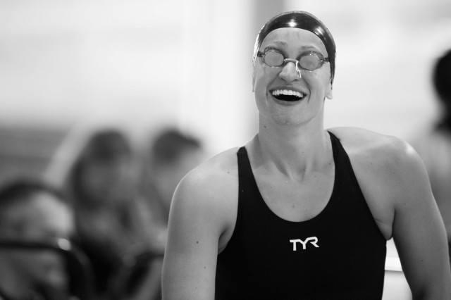 Megan Romano all smiles (photo: Mike Lewis, Ola Vista Photography)