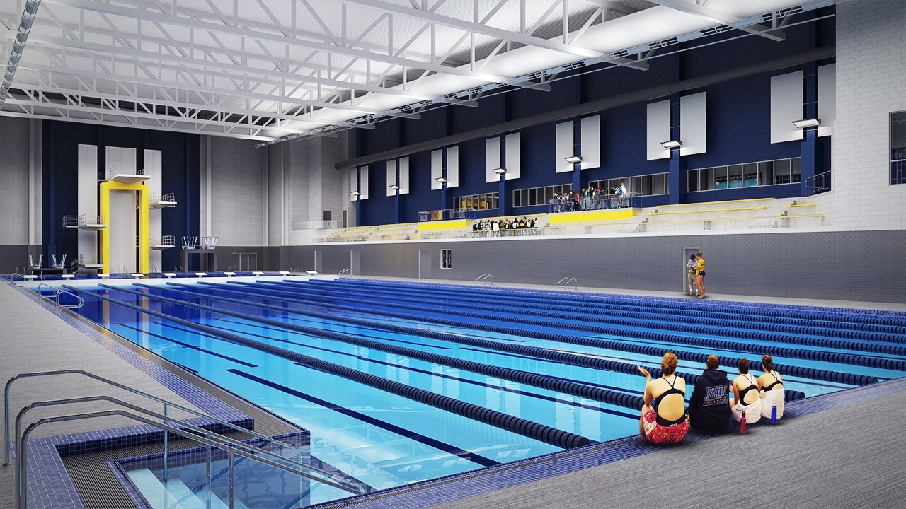 Northern Arizona Breaks Ground On New Swimming Facility Artist 39 S Renditions Here