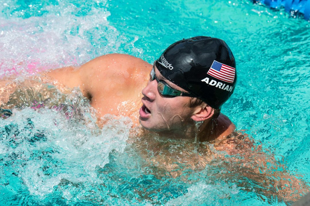 Adrian Warms Up With 22.1 in 50 Free on Day 1 at Mare Nostrum – Canet