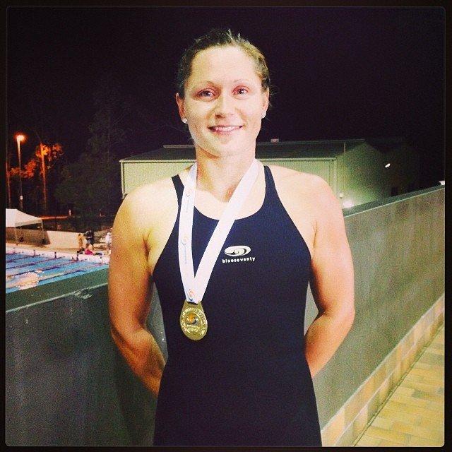 Lorna Tonks, 100m Breaststroke Winner,  Australia's 2014 Swimming Championships