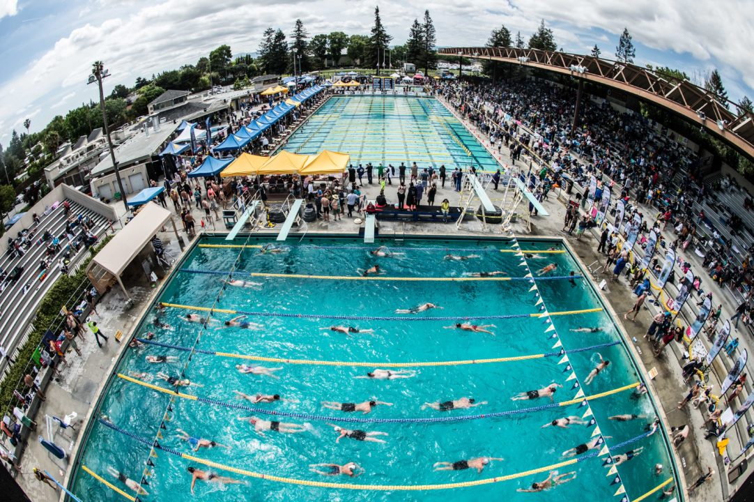 Wow – Lots of Swimmers! Time Lapse of USMS Nationals Warm Up