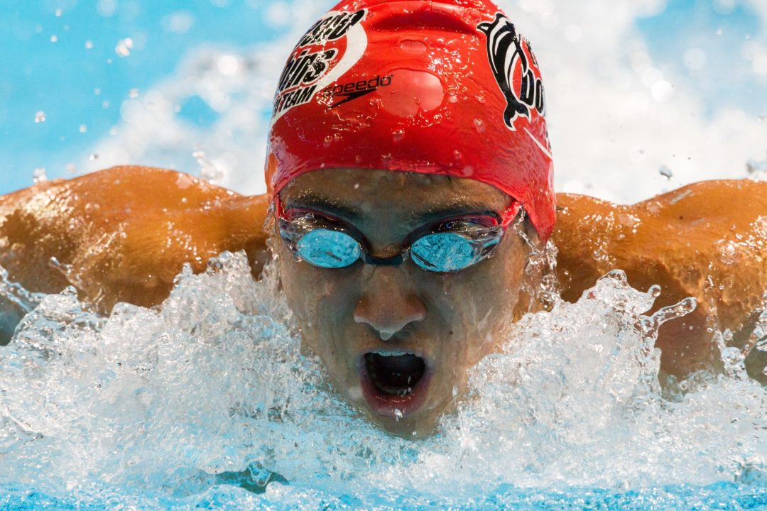 Hannah Moore, Justin Wright to Lead USA Swimming Youth Olympic Games Team