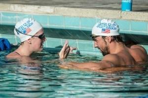 Allison Schmitt talks living with Michael Phelps (Video)