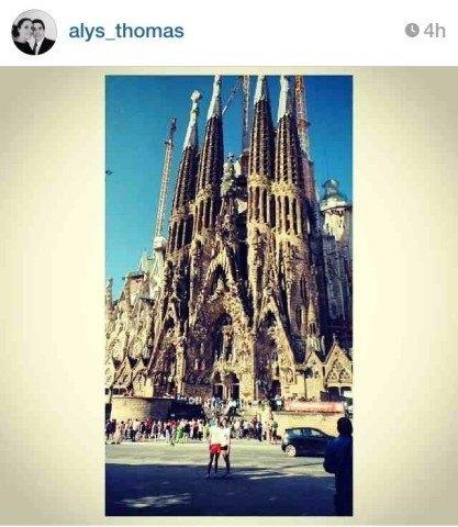Alys Tweet_Sagrada Familia