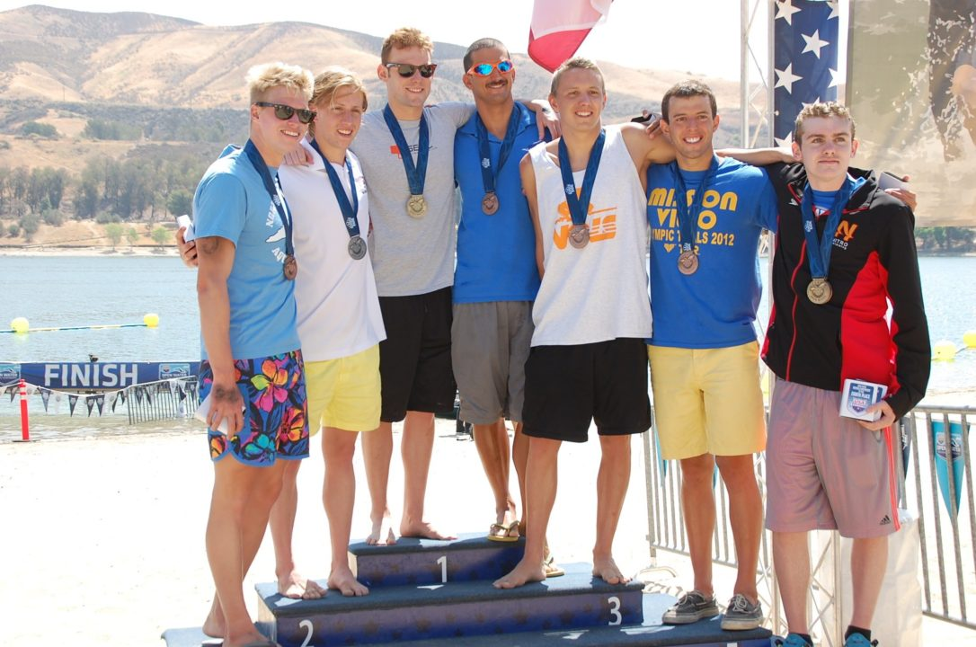 Photo Vault from Shore: Men's 5K at 2014 Open Water Nationals
