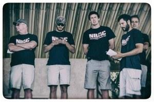 The NBAC coaching crew (photo: Mike Lewis, Ola Vista Photography)