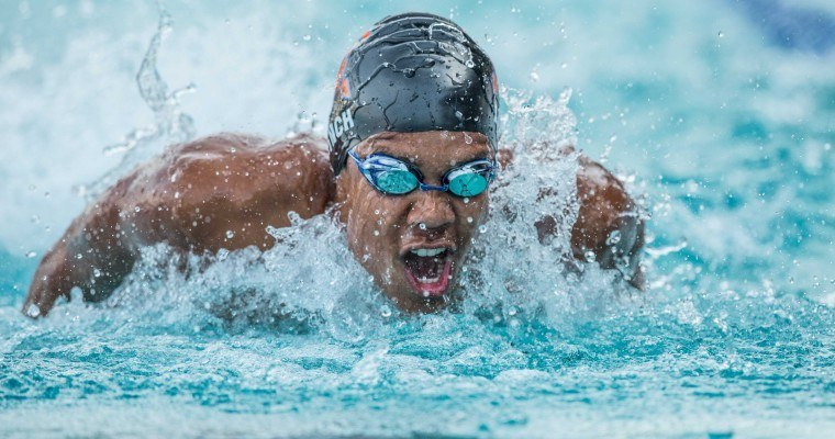 Murphy slides to sprints, Lynch wins 200 fly as Cal men roll past Pacific Tigers