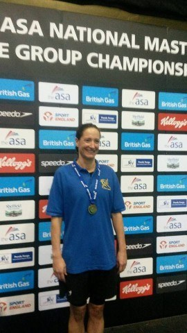 Kirstin Cameron, masters swimming world record holder (courtesy of blueseventy)
